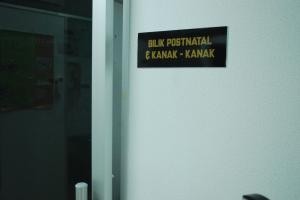 Examination Room for Postnatal Mother and Baby